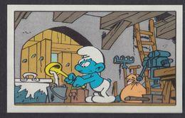 N° 89  L'apprenti Schtroumpf Smurf Puffi Schtroumpfs Ancienne Image Chromos Kwatta - Andere