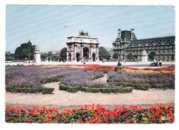 PARIS - 516 - LE CARROUSEL LE JARDIN DES TUILERIES - VIAGGIATA 1963 - (1882) - Parchi, Giardini
