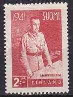 Finland (1941):- Field-Marshal Mannerheim (2 Mk):- MH - Finland