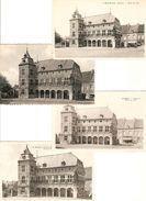 Borgloon : Stadhuis  ---  4 Zichtkaarten - Borgloon