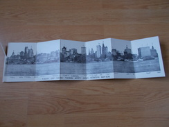 VIEW OF NEW YORK CITY AND NORTH RIVER 1910/30 - Multi-vues, Vues Panoramiques