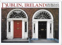 IRLANDA - DUBLINO - GEORGIAN DOORWAYS - VIAGGIATA 1993 FRANCOBOLLO ASPORTATO - Dublin