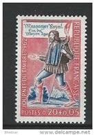 """FR YT 1332 """" Journée Du Timbre """" 1962 Neuf** - France"""
