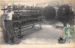 CPA 11 ESPERAZA MANUFACTURE DE CHAPEAUX LES FOURS 1925 - France