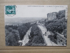 YVELINES  78     SAINT-GERMAIN   -   MONTEE ET DESCENTE DU PECQ       ANIME   TTB - St. Germain En Laye