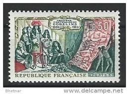 """FR YT 1343 """" Manufacture Des Gobelins """" 1962 Neuf** - Ungebraucht"""