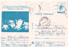 Postcard Stationery, Romania 1983 - Entiers Postaux