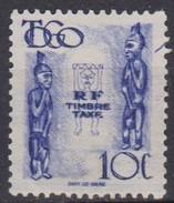Togo, 1947 - 10c Carved Figures - Nr.J32 SG - Togo (1960-...)