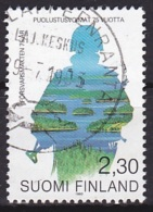 Finland (1993):- Defence Forces 75th Anniv./Silhouette (2.30 Mk):- USED - Finland