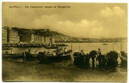 NAPOLI ++ Via Caracciolo Veduta Da Mergellina ++ - Napoli (Naples)