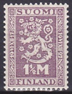 Finland (1927):- Independence 10th Anniv. (1 1/2 Mk):- MH - Finland