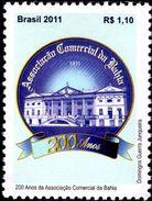 Brazil - 2011 - Bicentenary Of Bahia Trade Chamber - Mint Stamp - Brasil