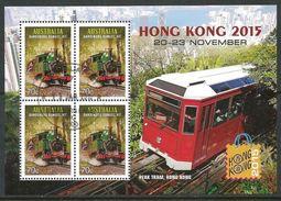 Australia 2015 Used Sheet Hong Kong - Usati