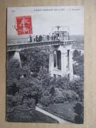YVELINES  78     SAINT-GERMAIN -EN-LAYE   -    L ´  ASCENSEUR        ANIME   TTB - St. Germain En Laye (Château)