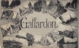Carte Postale Ancienne De  GALLARDON - France