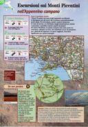 Campania - Depliant SENTIERI DEL TOURING, ESCURSIONI SUI MONTI PICENTINI NELL'APPENNINO CAMPANO - Sent-tou - Dépliants Turistici