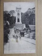 YVELINES  78     SAINT-GERMAIN -EN-LAYE  -   L ´ASCENSEUR        ANIME   TTB - St. Germain En Laye (Château)