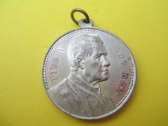 Médaille Religieuse Ancienne /Pie X Pont Max / Saint Pierre Et Saint Paul/Début XXéme Siécle               CAN535 - Religión & Esoterismo