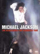 """DVD  Michael Jackson  """"  Live In Bucharest: The Dangerous Tour  """" - Concert & Music"""