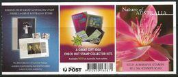 Australia 2002 Scott 2114 MNH Booklet Desert Star Flower - 2000-09 Elizabeth II