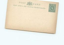 East  Africa And Uganda Protectorate   Edward VII  3c Post Card   - Unused - Protettorati De Africa Orientale E Uganda