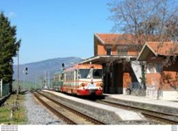 256 FCE - Ferrovia Circumetnea ADe 15 Maleto Catania Rotabili Tpaívo Trein Railways Treno Steam Chemin De Fer - Trains