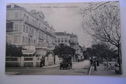 CPA 83 VAR SAINT RAPHAEL. Hôtel Continental Et Des Bains. - Saint-Raphaël