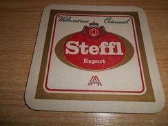 SCHWECHATER BIER STEFFL Export  , Beer Mat - Beer Mats