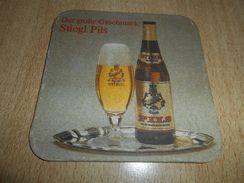 STIEGL PILS , Beer Mat - Beer Mats
