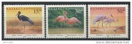 102 KAZAKHSTAN 1998 - Oiseau Cigogne Flamand Grue - Neuf Sans Charniere (Yvert 183/85) - Kazakhstan