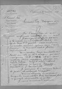 Courrier Laines Canal Fils Tourcoing & Orléans 25-04-1899 - 1800 – 1899