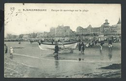 +++ CPA - BLANKENBERGE - BLANKENBERGHE - Barque De Sauvetage Sur La Plage  // - Blankenberge