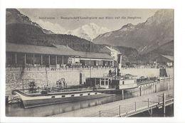 17442 - Interlaken Dampfschiff-Landeplatz Mit Blick Auf Die Jungfrau - BE Berne
