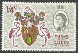 Turks & Caicos Islands. 1969-71 Decimal Currency. ¼c MH. SG 297 - Turks And Caicos