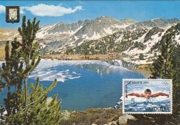 ANDORRA - Lago Grande De Eis Pessons, Karte Gel.1972 - Andorra
