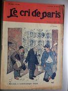 Le Cri De Paris Loyer Le Terme Concierge Pub Chaussures A L'aigle Par Mich Octobre 1920 - Sonstige