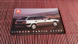 Phonecard Netherlands Private Citroen Car (Mint,Neuve)  2 Scans Rare - Pays-Bas
