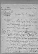 Courrier Laines Canal Fils Tourcoing & Orléans 17-05-1899 - 1800 – 1899