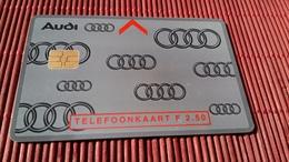 Phonecard Netherlands Private Audi (Mint,Neuve)  2 Scans Rare - Pays-Bas