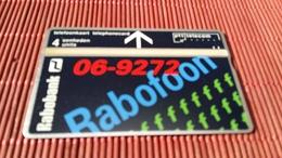 Phonecard Netherlands Private Rabo Bank 133 B (Mint,Neuve)  2 Scans Rare - Privées