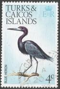 Turks & Caicos Islands. 1973 Birds. 4c Used. SG 385 - Turks And Caicos