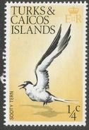 Turks & Caicos Islands. 1973 Birds. ¼c MH. SG 381 - Turks And Caicos