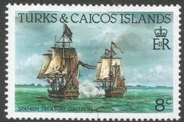 Turks & Caicos Islands. 1983 Ships. 8c MH. SG 771 - Turks And Caicos