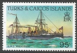 Turks & Caicos Islands. 1983 Ships. 95c MH. SG 779a - Turks And Caicos