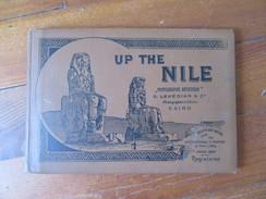 Egypte     Carnet De 22 Vues   ( En Noir Et Blanc )  Cairo                 Up The Nile - Cairo