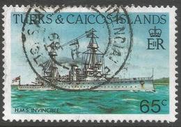 Turks & Caicos Islands. 1983 Ships. 65c Used. SG 778a - Turks And Caicos