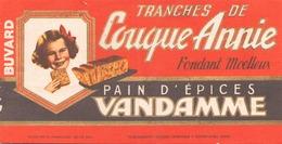 France Buvard Pain D'épices Vandamme ( Pliure, Manque ) 18,5 X 9,5 Cm - Gingerbread