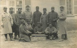 CARTE PHOTO  - 101° REGIMENT D'INFANTERIE TERRITORIAL (43 - LE PUY) - VOIR 2 SCANS. - Guerre 1914-18
