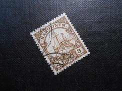 D.R.7   3Pf Deutsche Kolonien (Karolinen) 1900  Mi € 2,00 - Colony: Caroline Islands