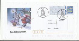 OBLITERATION SAINT NICOLAS EN ALSACE à GUEBWILLER SUR PAP REPIQUE 2006 - Marcofilia (sobres)